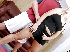 Horny aged lady spread legs to get deeply permeated