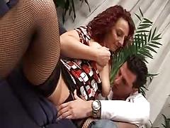 Italian Mama And Guy